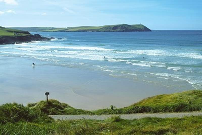 The north Cornish coastline is littered with great beaches.