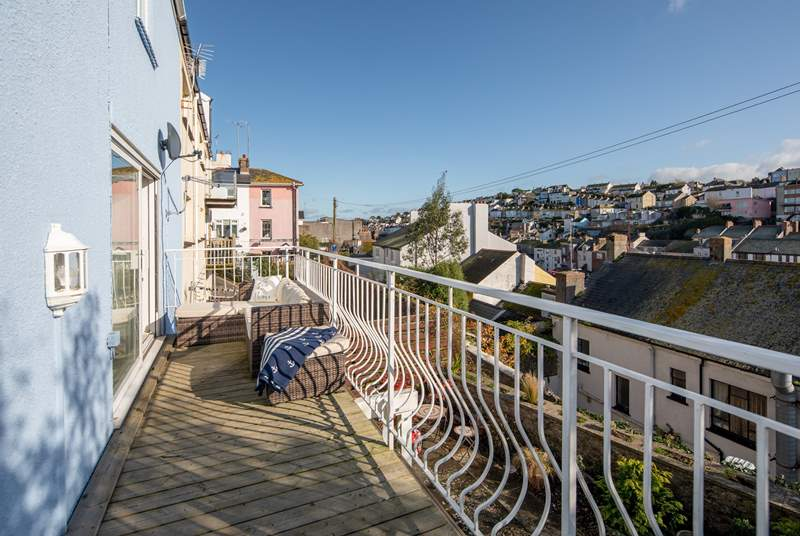 Relax on your balcony whilst taking in the fresh sea air.