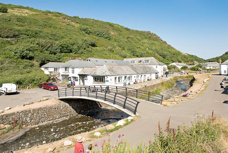 Take a trip to Boscastle.