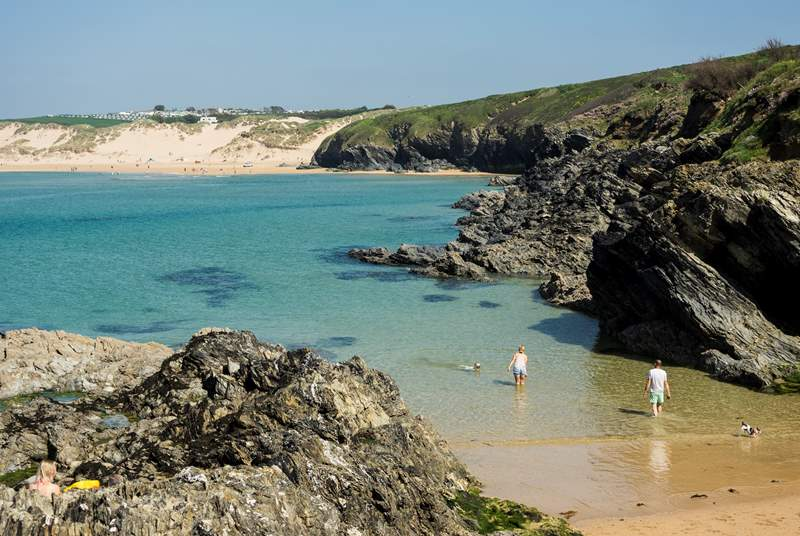 Crantock is a laid back village, and is a fifteen minutes drive from Homeleigh.