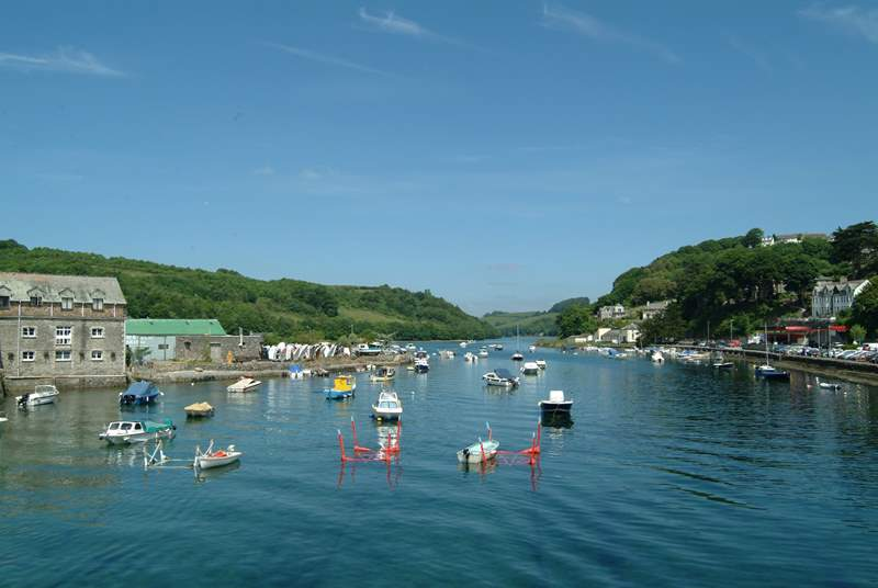 The pretty fishing town of Looe is the shortest of drives away.