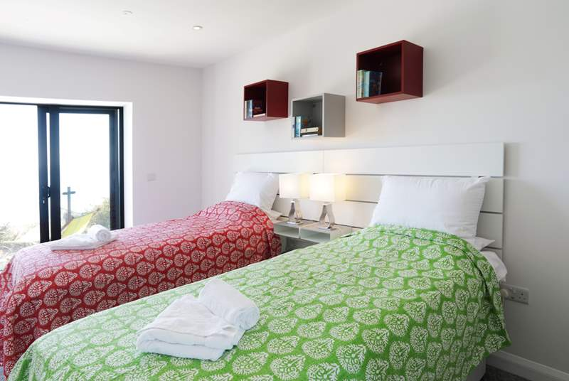 Shearwater has five boutique-style bedrooms.