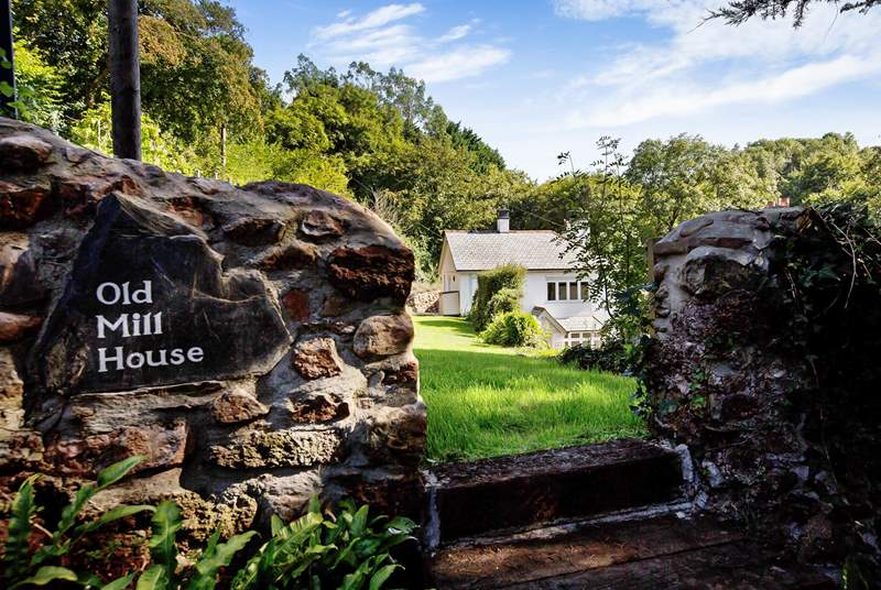 Beautiful Old Mill House is tucked away in one of the most splendid countryside locations.