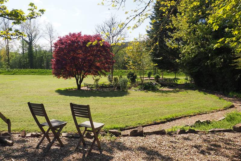 The gardens are beautiful with many different areas to explore and enjoy.