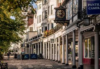 The Pantiles is home to many independent shops as well as antique stores just waiting to be explored.