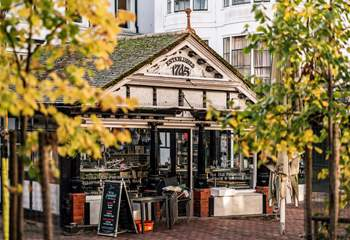 Sankey's in The Pantiles for lovers of fresh fish and seafood.