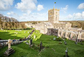 Majestic St David's Cathedral.