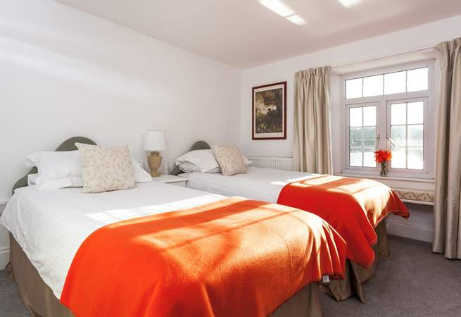 All the beds are beautifully presented with lovely linens and throws.