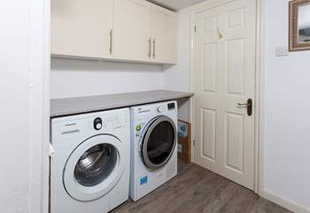 There is a useful utility-area on the ground floor, which leads into the wet-room.