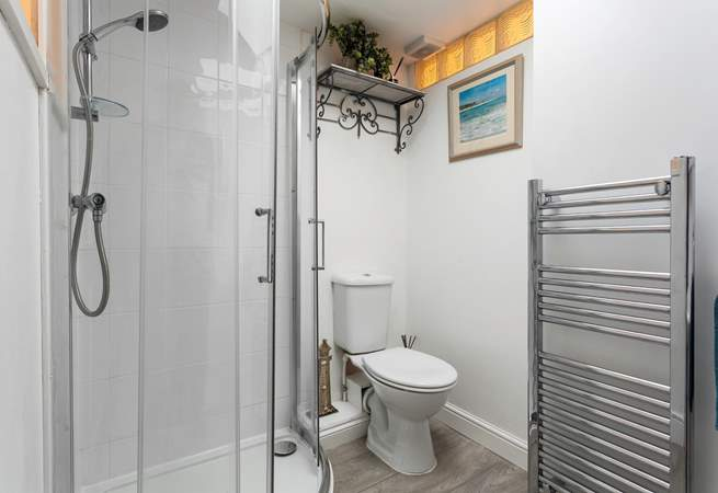 The family shower-room is located on the first floor.