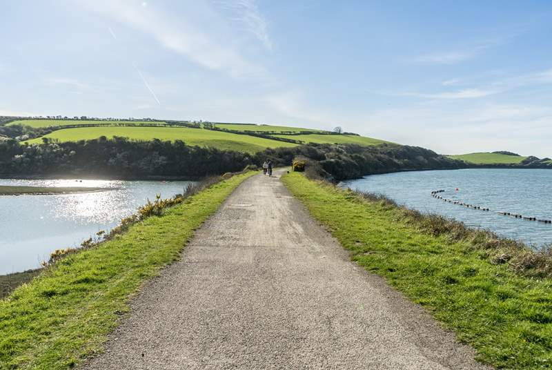 If you are feeling energetic the camel trail is a short drive away.