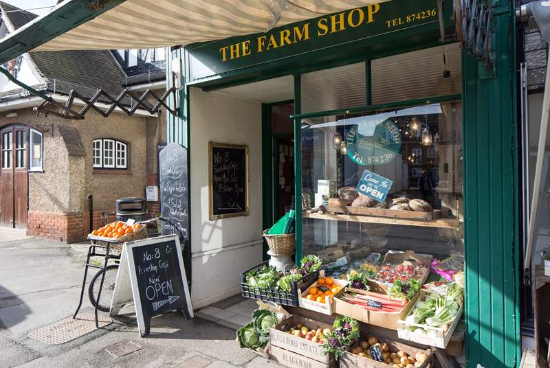 Take advantage of the fresh local produce in Bembridge.