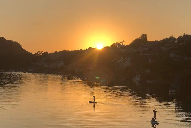 Remember to pack the paddle board, you have the best playground in your back garden.