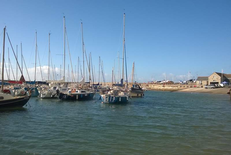 Nothing is better than strolling and watching the sailing boats in the harbour.