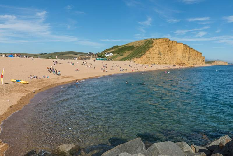 A little further east from Lyme Regis is West Bay - famous for its stunning cliffs.