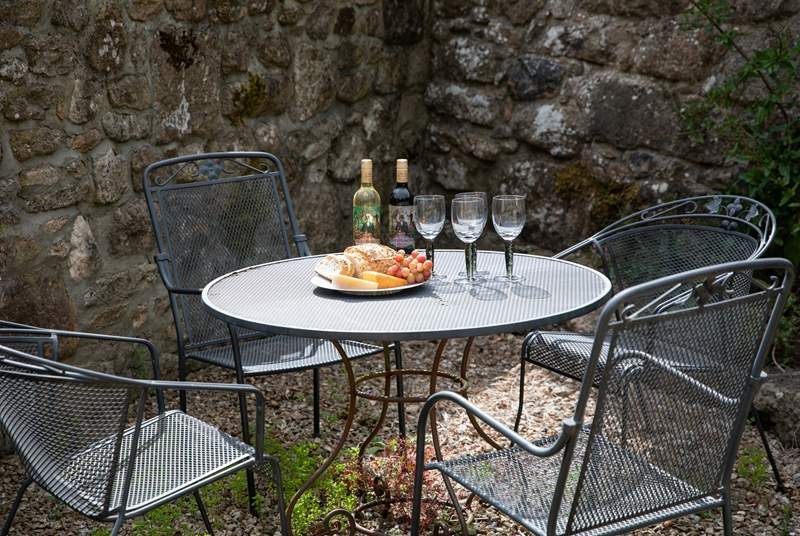 The perfect spot to hide away and enjoy a touch of dining al fresco.