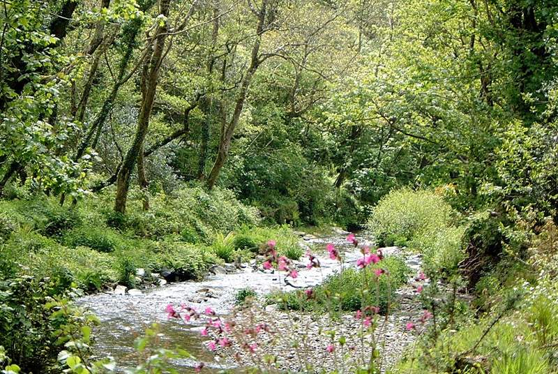 There are beautiful countryside and riverside walks.