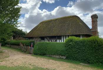 The Clergy House in Alfriston purchased by the National Trust in 1896 for £10!