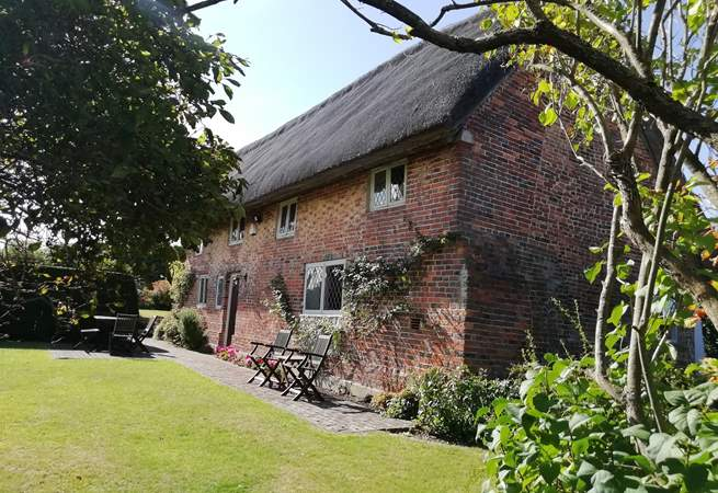Danny Cottage is a lovely Grade II Listed thatched cottage bought from the National Trust.