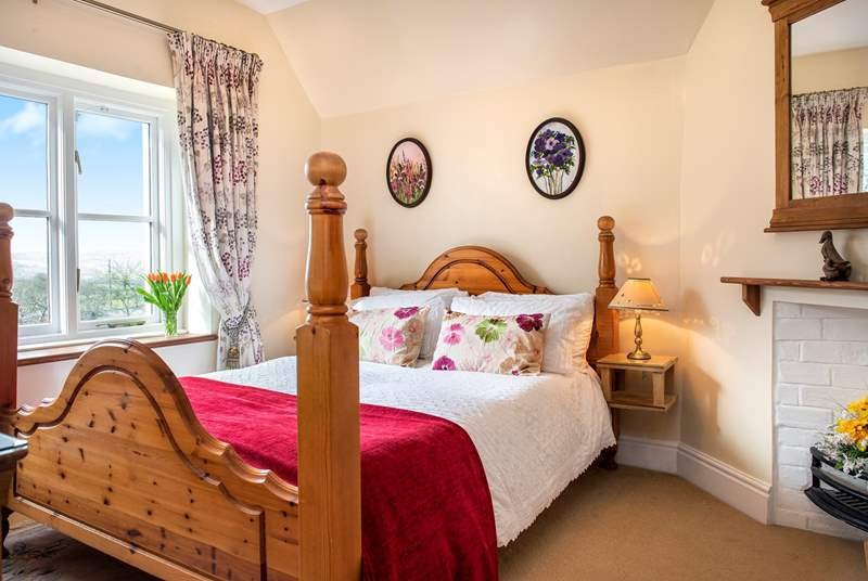 Piran's Rest has two charming bedrooms.