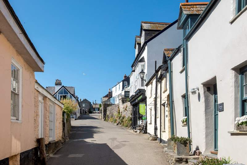 The village is utterly charming with narrow streets (sometimes steep) lined with traditional fisherman's cottages.