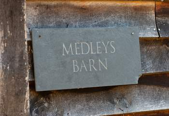 Medleys Barn close to the Ashdown Forest.