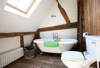 The Victorian bath.