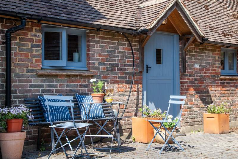 The Tea Hut is a perfect retreat for two.