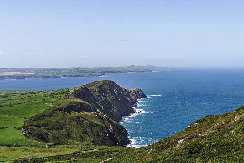 Walk the award winning Pembrokeshire coast path.