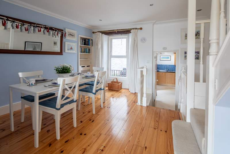 A lovely flowing design to the house makes holidaying in this charming fisherman's cottage a real pleasure.