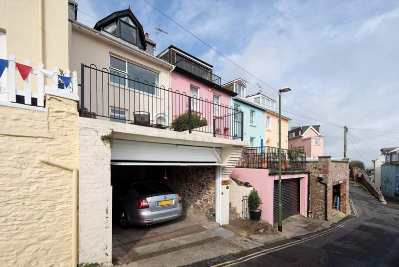 Parking is no problem at all with this fabulous garage.
