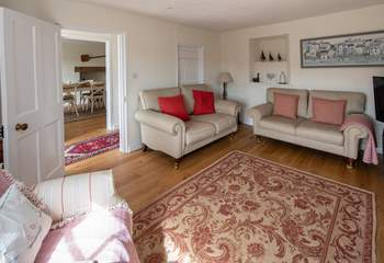 Spacious and comfortable sitting-room.
