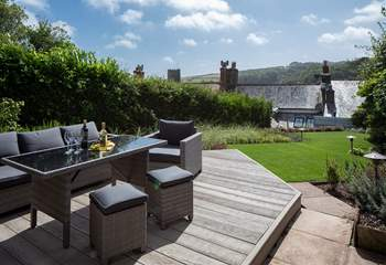 What fabulous views from the top of the garden.