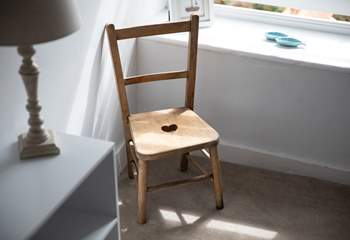 A chair with a view!