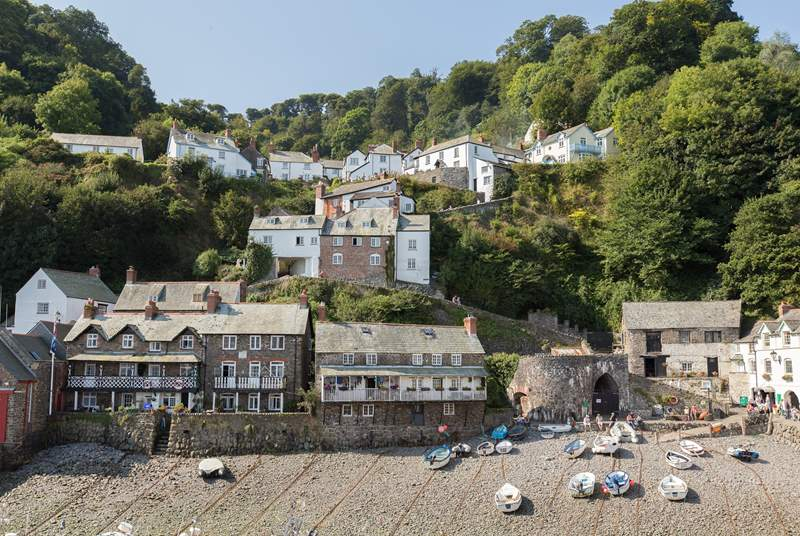 Charming Clovelly is well worth a visit.