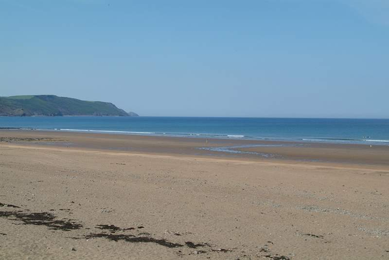 Widemouth Bay is another fabulous beach.