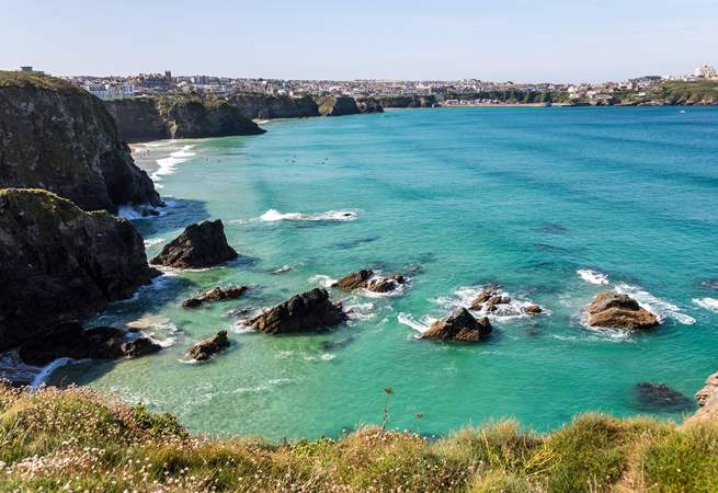 Newquay is a short drive away, and is full of lovely shops and fabulous cafes.