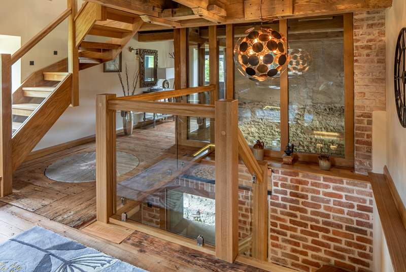 The owners have cleverly incorporated all of the original mill features which makes this property so special.