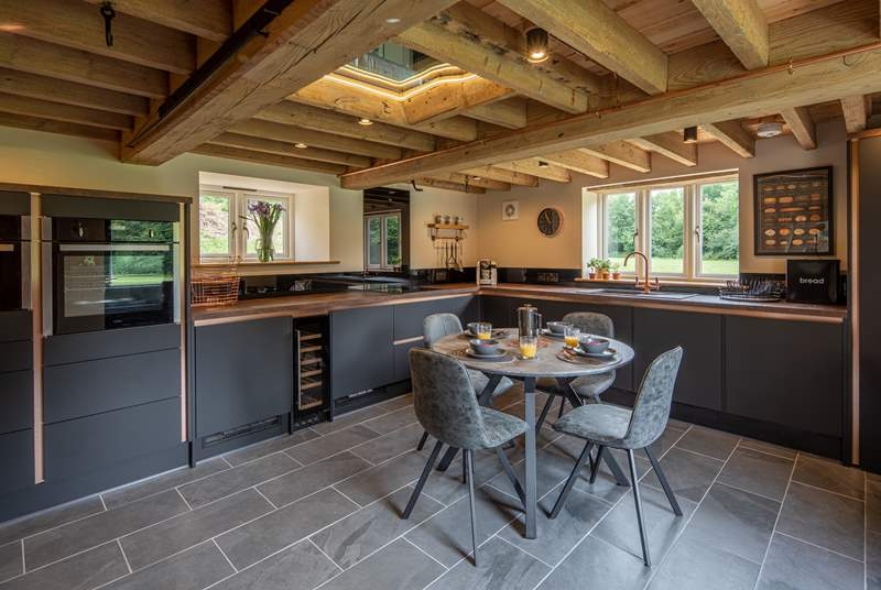 The kitchen/diner is simply gorgeous and a great space for socialising.