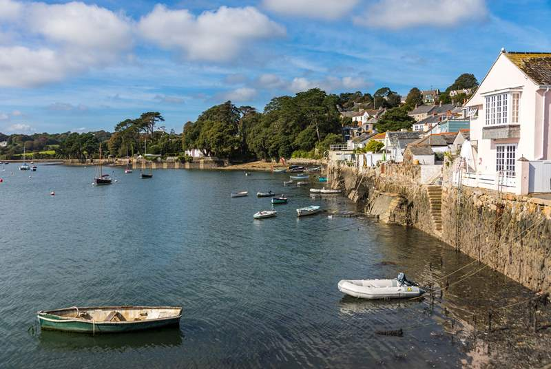 The pretty village is only a short drive away or perhaps visit here by ferry.