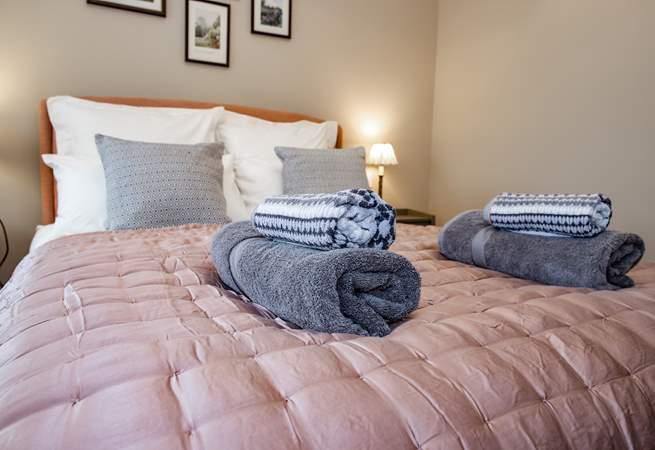 Each bedroom offers a wonderful room to recharge at the end of the day.