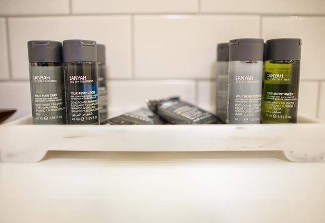 Toiletries are always a welcome treat.
