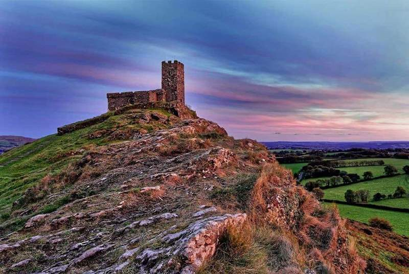 Head up to Brentor Church and be rewarded by this wonderful view, then head back into Tavistock for a coffee.
