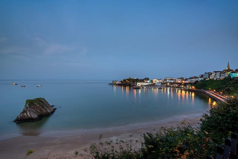 Tenby by night!