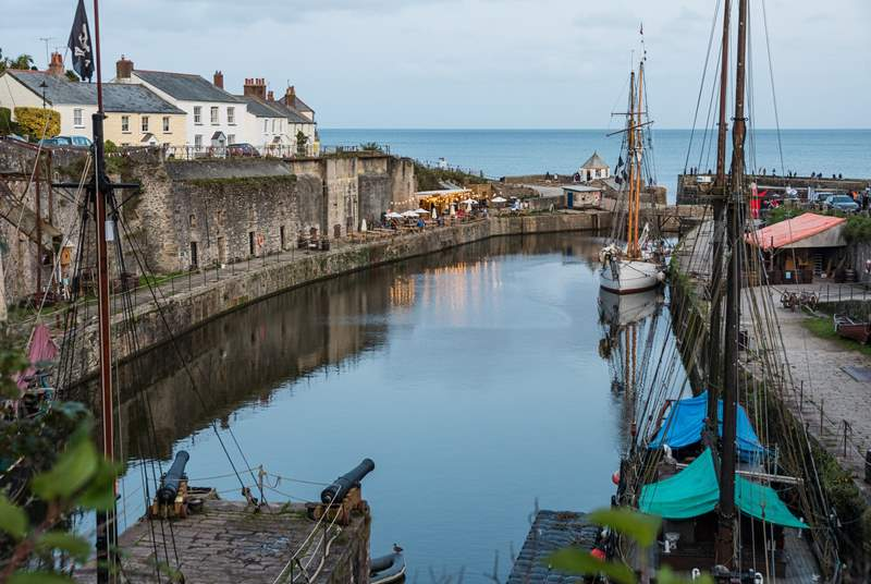 Charlestown is a short drive away and has a lovely harbour you can stroll around. Over the years it has remained relatively unchanged, which adds to the charm.