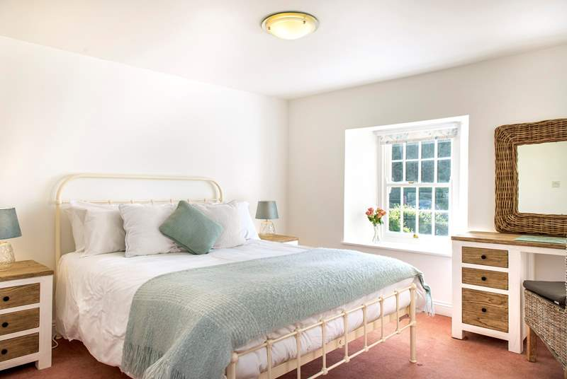 Bayview has four pretty bedrooms.