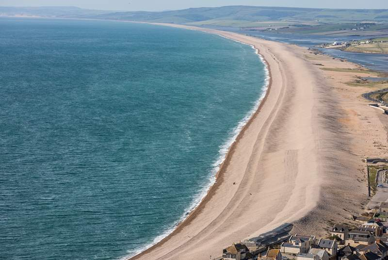 Fabulous Chesil beach.