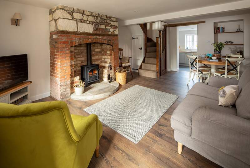 Gamekeeper's Cottage has been beautifully restored in keeping with its character.