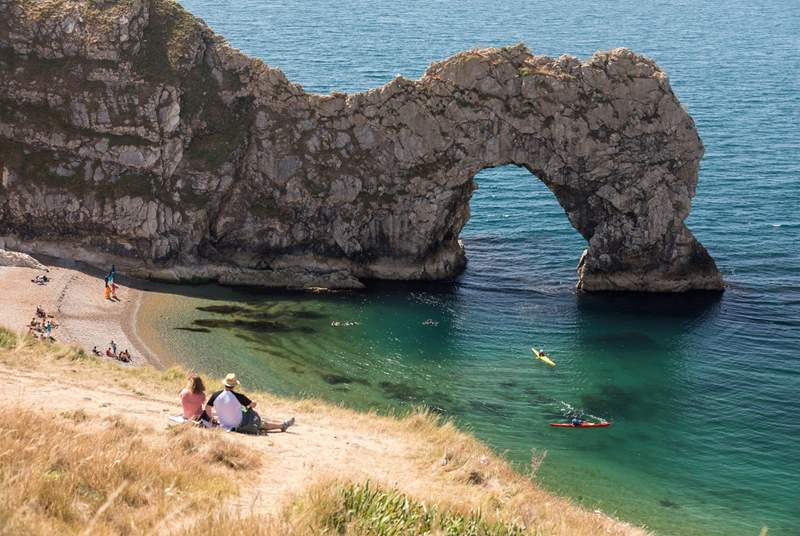 A holiday to Dorset would not be complete without a trip to the world-famous Durdle Door!