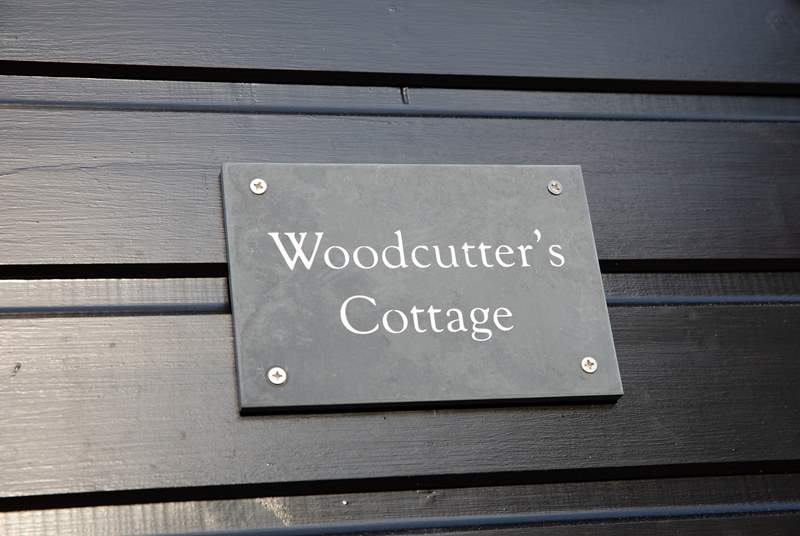 Welcome to Woodcutter's Cottage.
